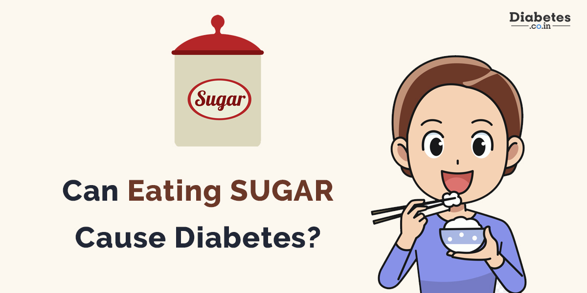 can eating sugar cause diabetes