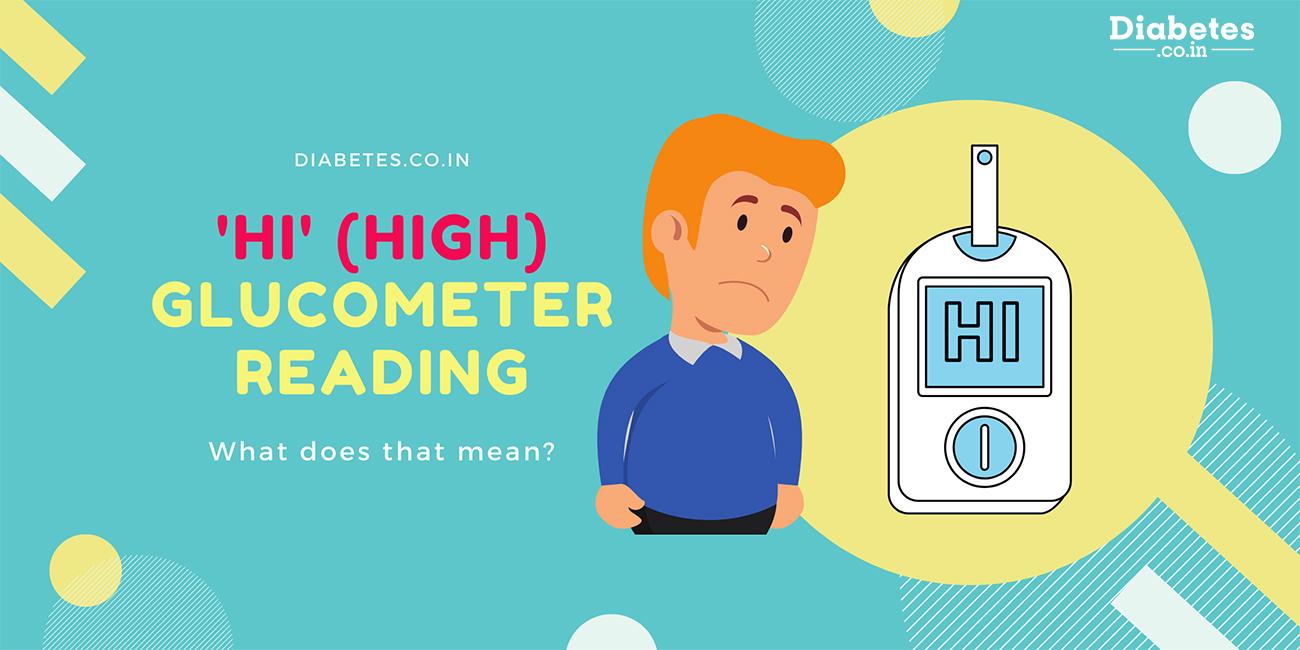 high hi glucometer reading