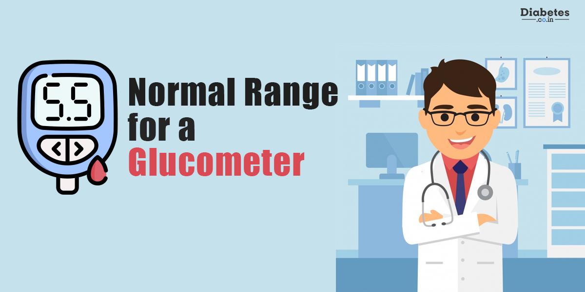 normal range for a glucometer