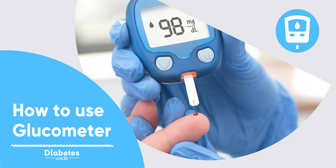 using glucometer at home
