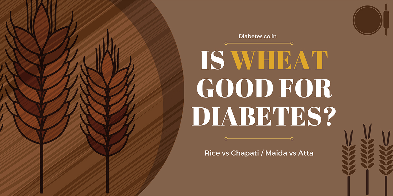 is wheat chapati good for diabetis