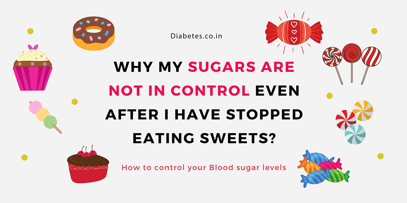 sweets sugars and diabetes
