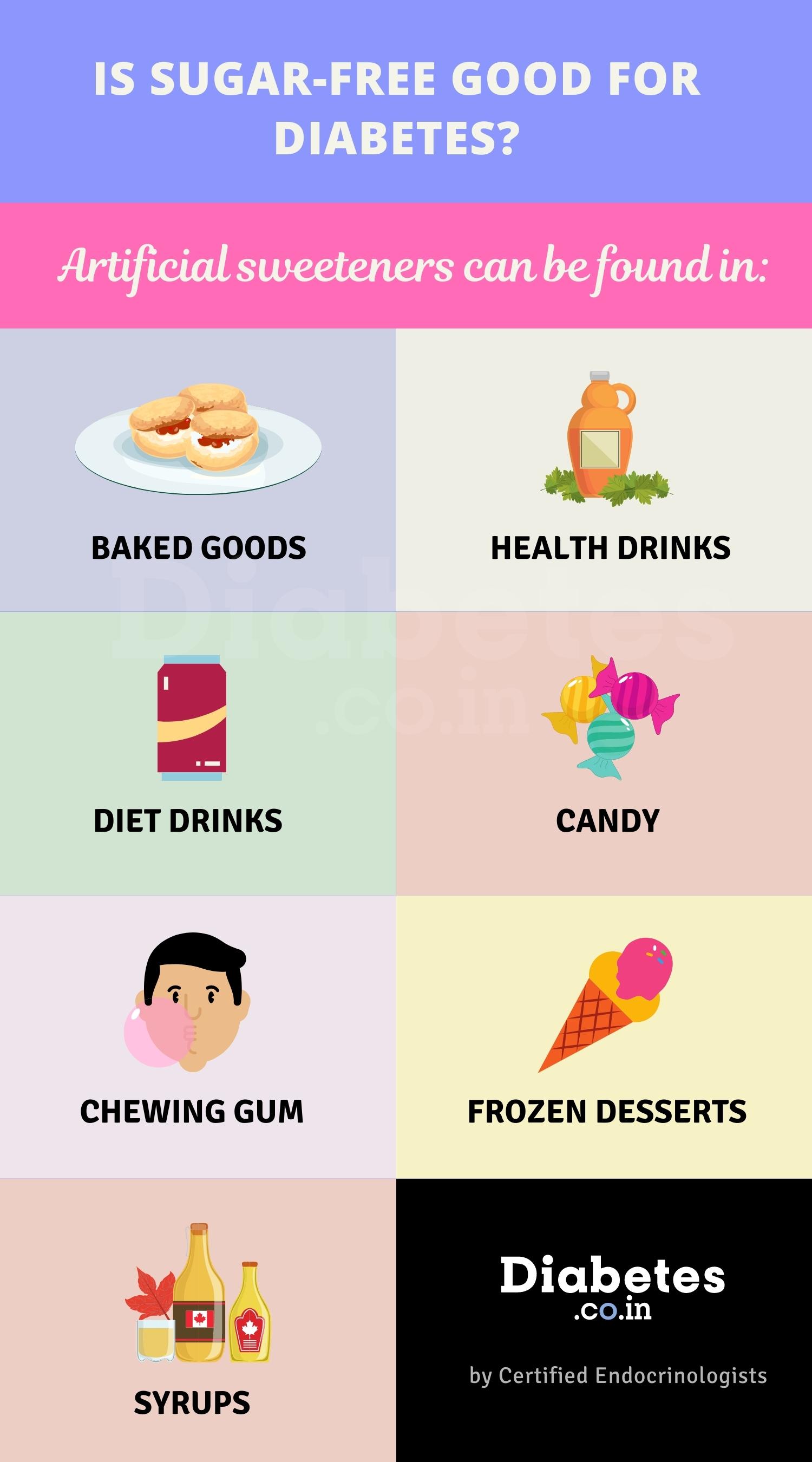 sugar free for diabetes
